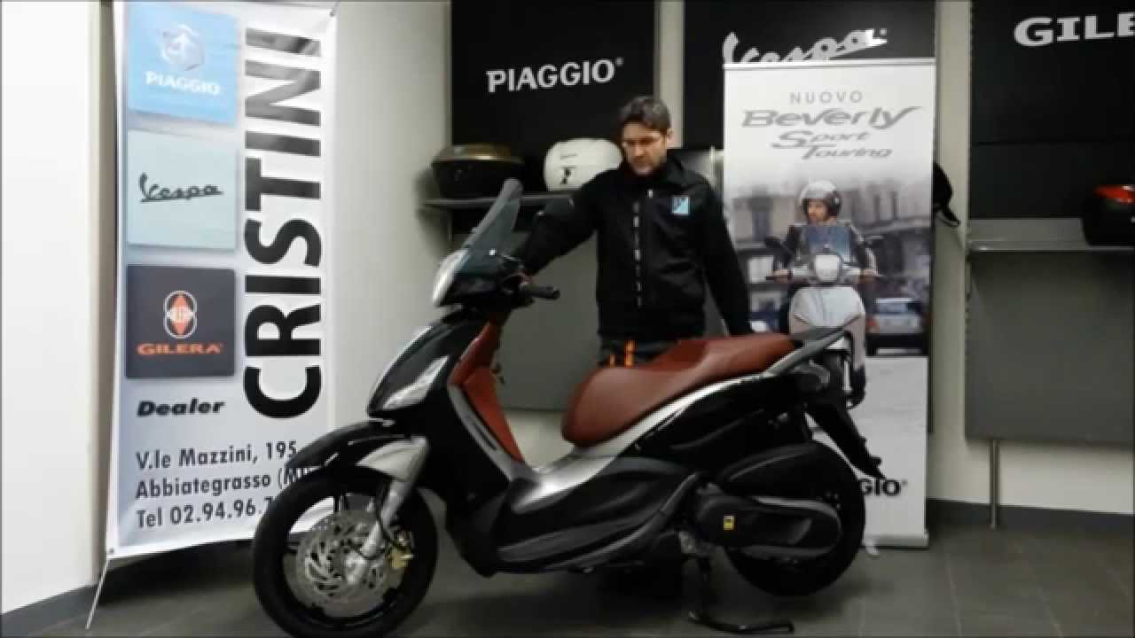 piaggio beverly sport touring 350 youtube. Black Bedroom Furniture Sets. Home Design Ideas