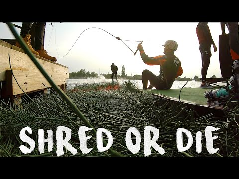 HOW TO SHRED - WAKEBOARDING & WAKESKATE | S01 EP01 - SHREDDER SUR SARTHE