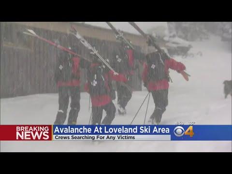 Skier Triggers Avalanche At Loveland Ski Area