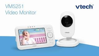 VM5251 Full-Color Video Baby Monitor