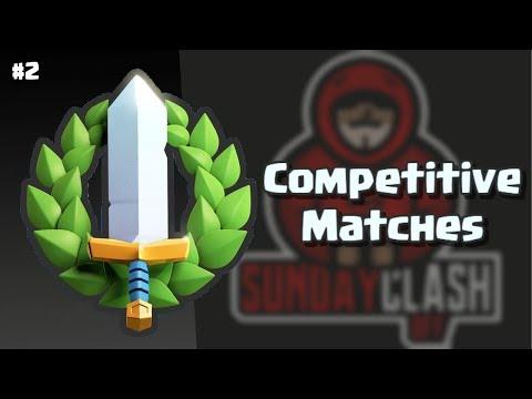 Competitive Matches #2   Smiley eSports vs Gizer Pro Team (SCO)   Clash Royale
