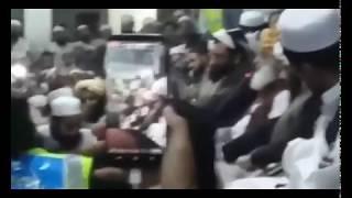 Maulana fazlu Rrahman da Maulana Smiul Haq Taziat kawi مولانا فضل الرحمان ،مولانا سمیع الحق کی تعزیت