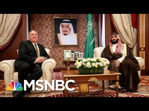 Mike Pompeo Visits Saudi Arabia As U.S. And Iran Trade Threats | Hallie Jackson | MSNBC