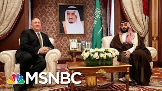 Mike Pompeo Visits Saudi Arabia As U.S. And Iran Trade Threats | Hallie Jackson | MSNBC
