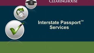 Interstate Passport Services: Overview