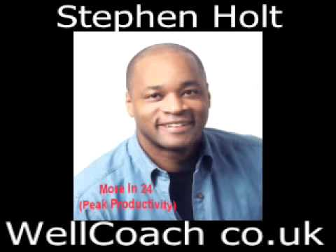 Productivity Tips With Master Personal Trainer Stephen Holt