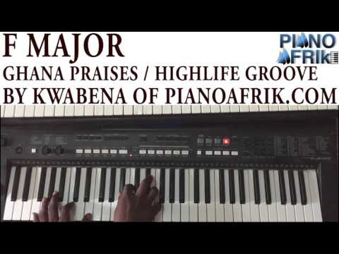 Ghana Praises groove by Piano Afrik's Kwabyna