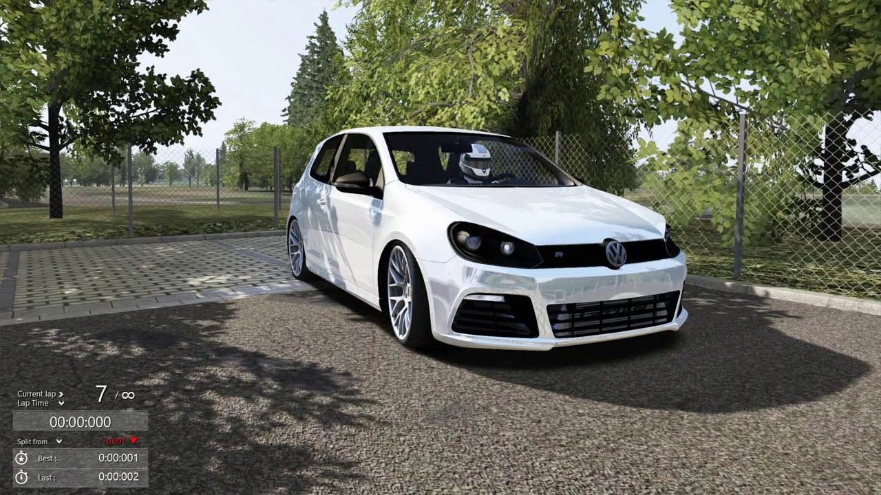assetto corsa golf gti r full lap at nurburgring youtube. Black Bedroom Furniture Sets. Home Design Ideas