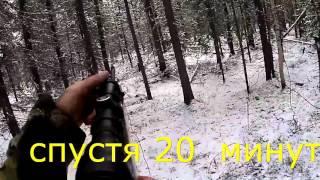 Охота на рябчика с пневматикой по первому снегу