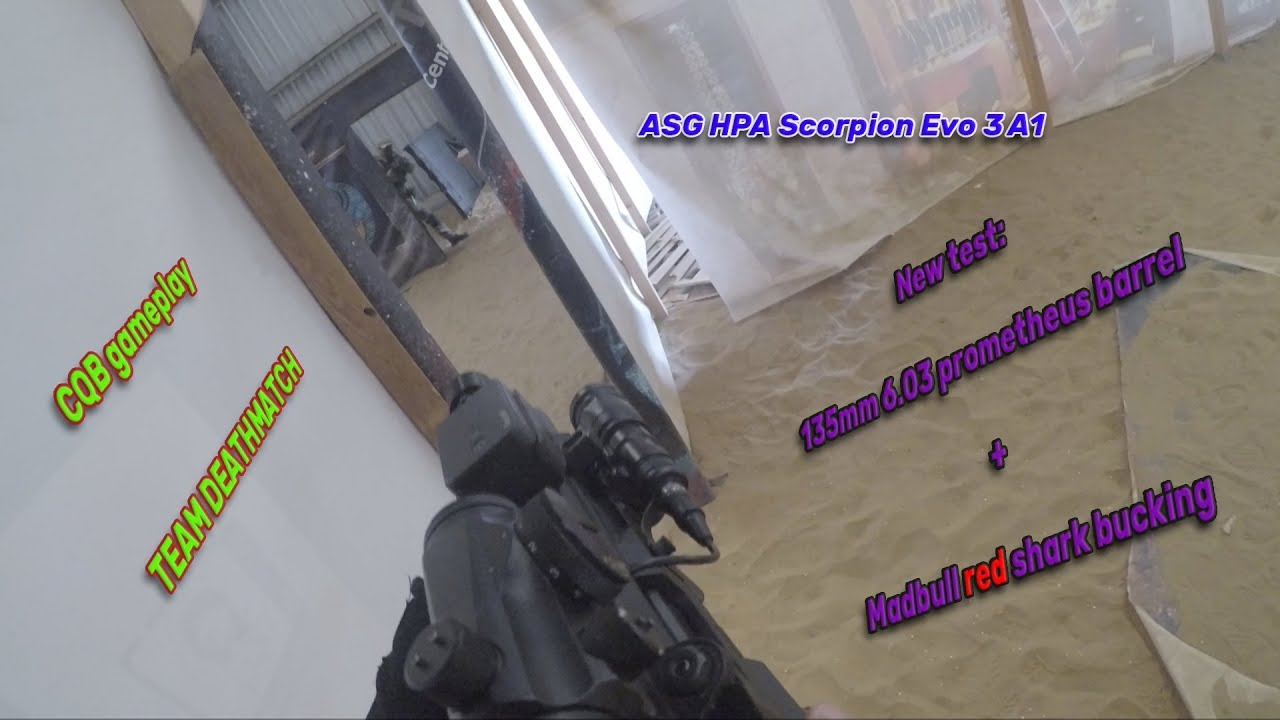 Asg Hpa Scorpion Evo Gameplay Team Deathmatch Youtube