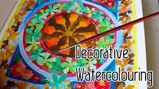 Decorative watercolouring book (weeklies #3)