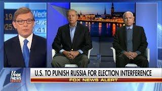 Американские сенаторы обещают ввести жесткие санкции против России и Путина. Русский перевод.
