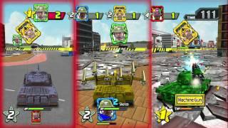Wii U: Tank! Tank! Tank! HD Direct Feed Footage Exclusive (E3 2012)