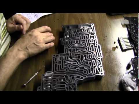 5r55w valve body rebuild