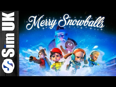 Snowball Fight With the Local Kids...Should be Easy! Merry Snowballs (Oculus Rift)
