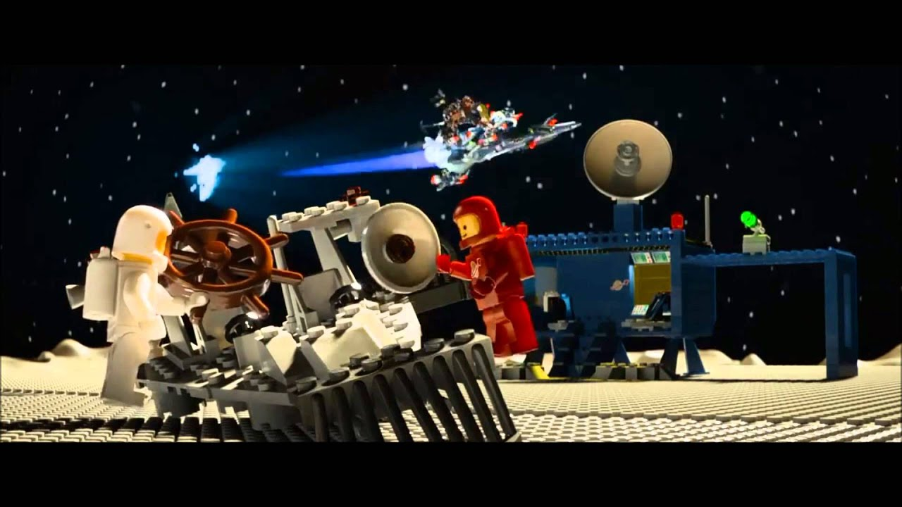 the lego movie spaceship scene slowed down youtube
