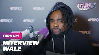 WALE in NEDERLAND   Turn Up! 🇺🇸   Interview