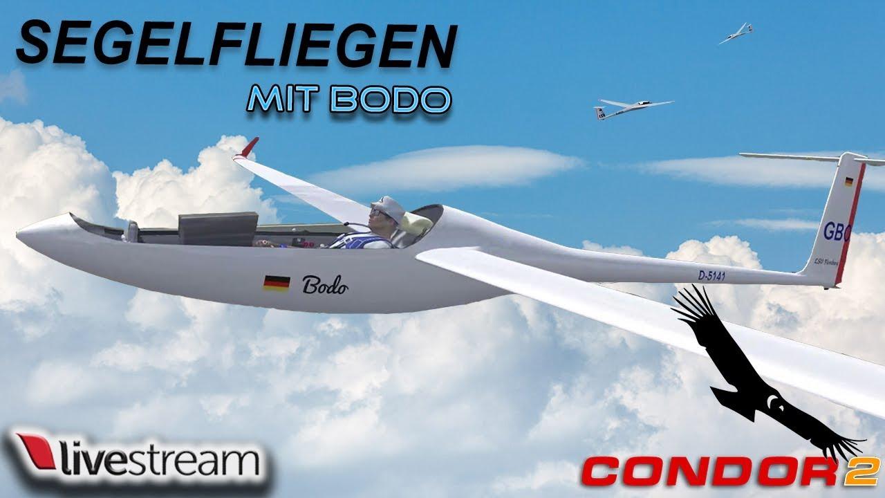 Condor 2 Segelflugsimulator mit Bodo - YouTube