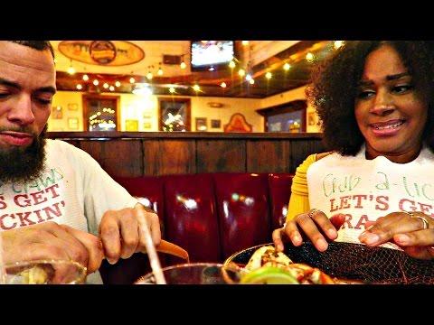 Come Eat With Us @ Joe's Crab Shack   Mukbang Eating Show