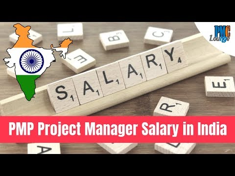 PMP Certified Project Manager Salary In India