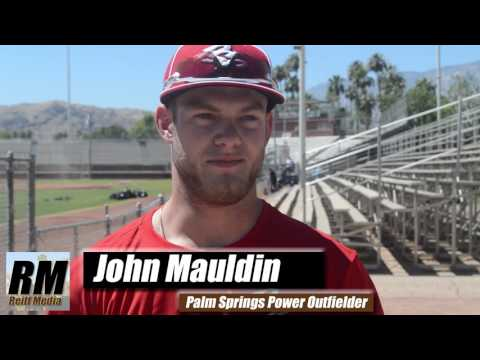 Mauldin Returns to the Palm Springs Power