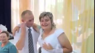 Приколы на свадьбе Невеста ЖЕСТЬ