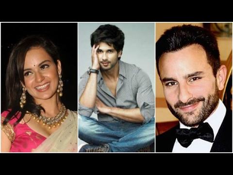 Kangana Refuses To Promote Rangoon With Shahid & Saif | Bollywood News