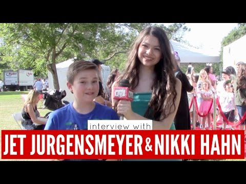 with Jet Jurgensmeyer and Nikki Hahn from Disney's Adventures In Babysitting
