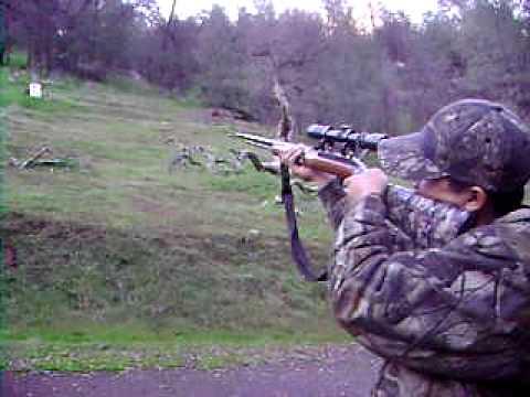 shooting wid da rimfire .22 long rifle marlin