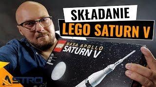 LEGO rakieta Saturn V - składanie na żywo