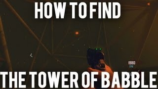 "*new* Black Ops 2 Zombies- How To Get To The ""tower Of Babble"" In Tranzit Green Run!"
