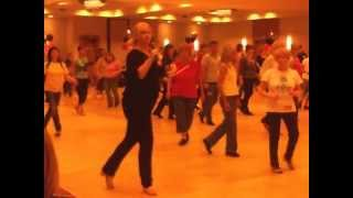 Come Together line dance by Debbie McLaughlin