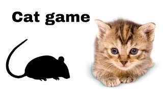 Rat on the screen to make fun with cat | cat games