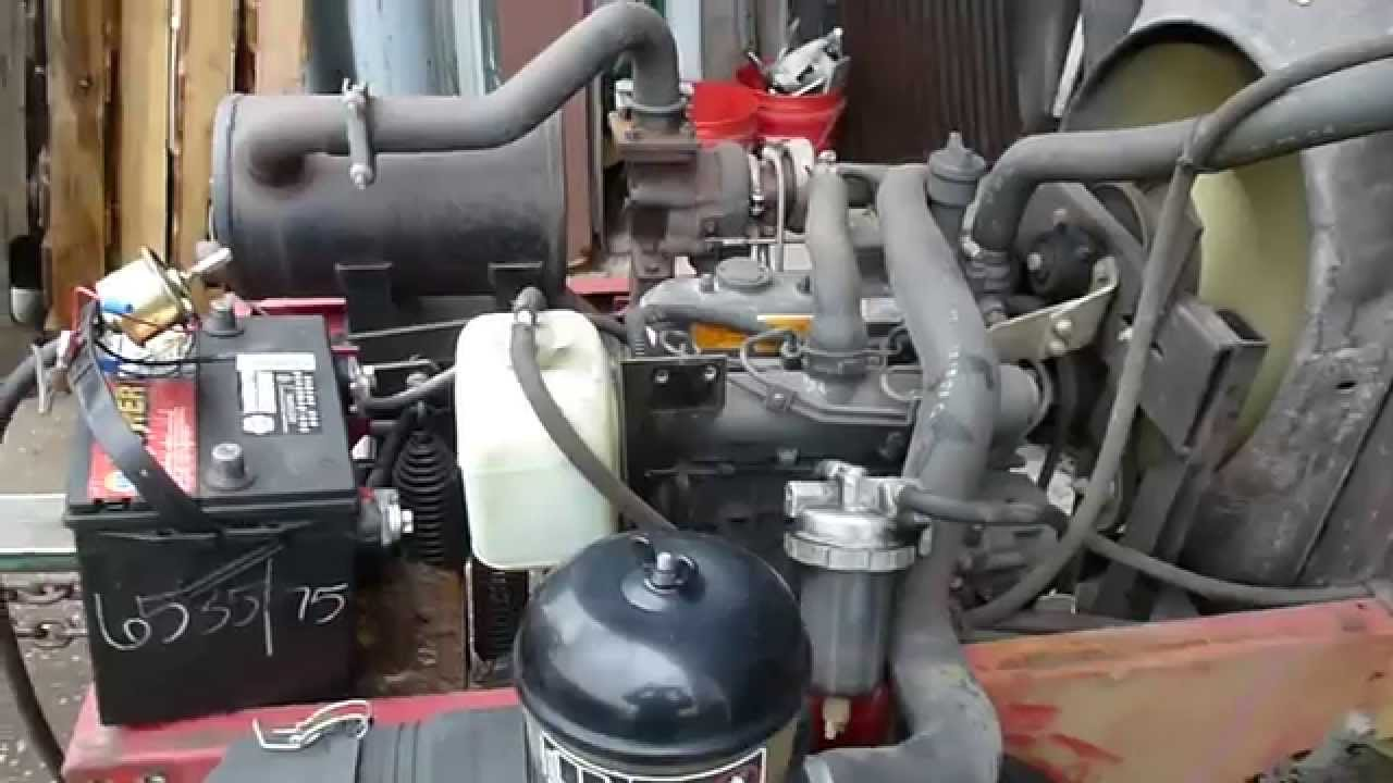 2004 Toro 5400-D Mower w/ Kubota D1105-T Turbo Diesel 3 Cyl Liquid Cooled  Engine 3070hrs Parts