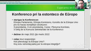 #VK21 Kiel fari Esperanton oficiala lingvo de Eŭropo (Klaus Leith)