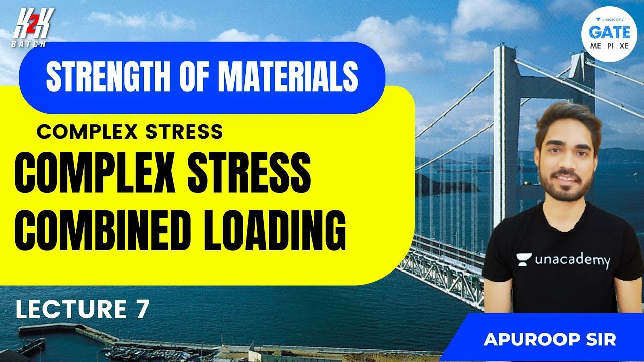 Complex Stress - Combined Loading   L 7   Strength of Materials   Apuroop Sir
