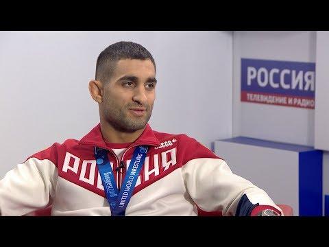 Вести-интервью: чемпион мира по греко-римской борьбе Степан Марянян