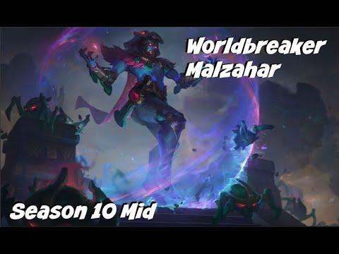 League of Legends: Worldbreaker Malzahar Mid Gameplay