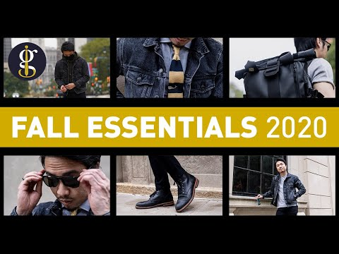 12 MEN'S FALL STYLE ESSENTIALS 2020 (Autumn Fashion For Stylish Guys)