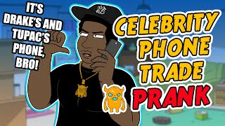 Celebrity Phone Trade Prank - Ownage Pranks