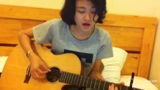 Nơi nào có em-Quốc Thiên guitar cover Trần Diệu Trang