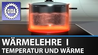 GIDA - Wrmelehre I - Temperatur und Wrme - Physik - Schulfilm - DVD Trailer