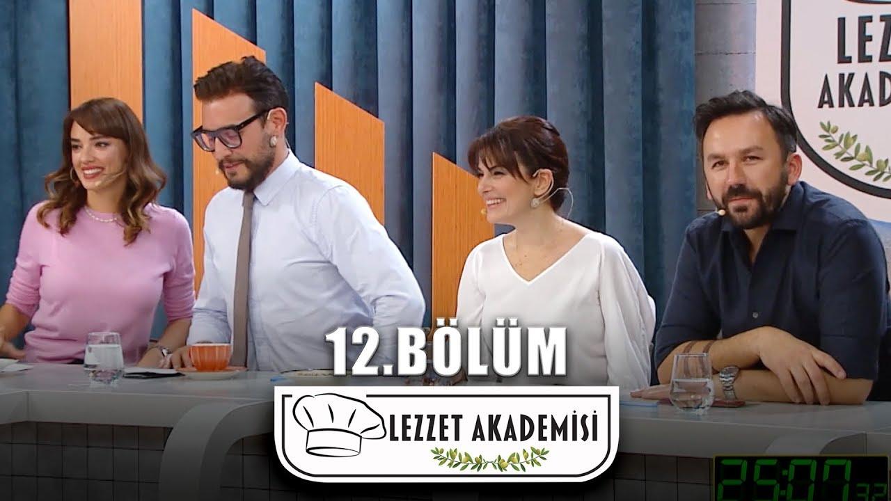 Lezzet Akademisi 12.Bölüm (Tek Parça Full HD)
