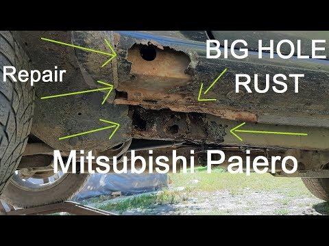 Mitsubishi Pajero Pinin Big Rust Hole Repair