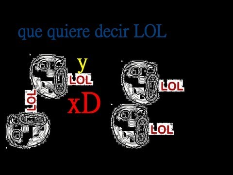 Qué significa LOL from YouTube · Duration:  1 minutes 2 seconds