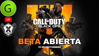 "JUGANDO CALL OF DUTY BLACK OPS 4 ""BLACKOUT"" | BETA ABIERTA PC"