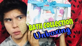 SIMPLY INDULGENCE  bath collection (unboxing) | JOHN RICK FAUSTINO