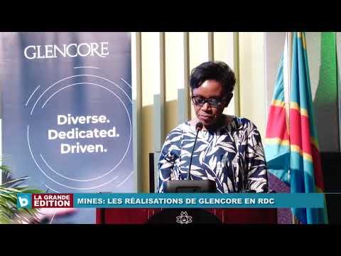 Mines: Les réalisations de GLENCORE EN RDC