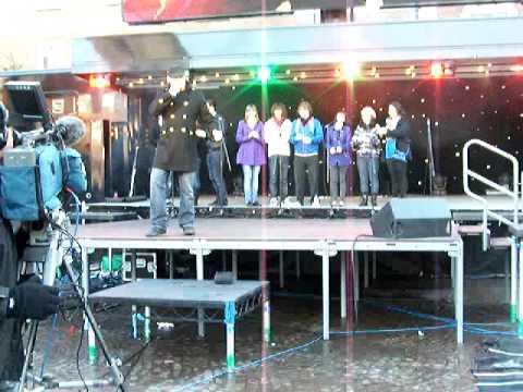 Newark Joseph Lee Jackson, singing Freddie Mercury music