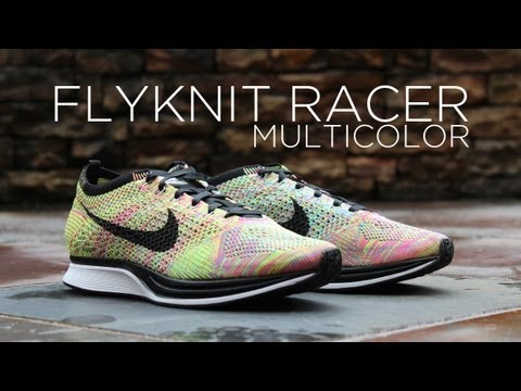 Review  Nike Flyknit Racer -